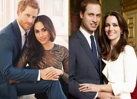 Meghan Markle & Prince Harry's Engagement Photo Debut! Do You Like Them Better Than Prince William and Kate Middleton's Portraits?