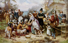 Guess What the Pilgrims and Native Americans Drank on Thanksgiving?
