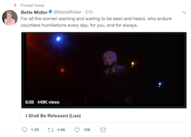 Bette Midler's Tribute to Women Made Me A Mega-Fan of Hers