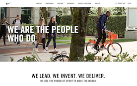 We Are The People Who Do: Nike's New-Look Career Site