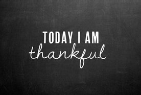What I am Thankful For - A Less Generic Approach