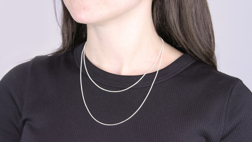 Finish That Pendant With One of Our New Necklace Chains!