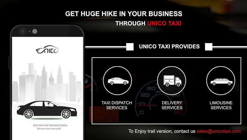 Taxi Dispatch System-UnicoTaxi - Mogul