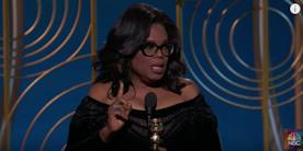 Oprah's Golden Globes Speech. Please watch and read it here.