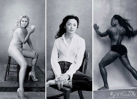 Pirellis' Powerful Calendar Replaces Sexy Stars With Influential Women!