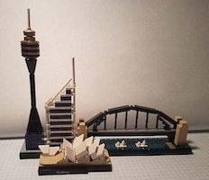 Giới thiệu về bộ xếp hình Lego Architecture 21032 Sydney