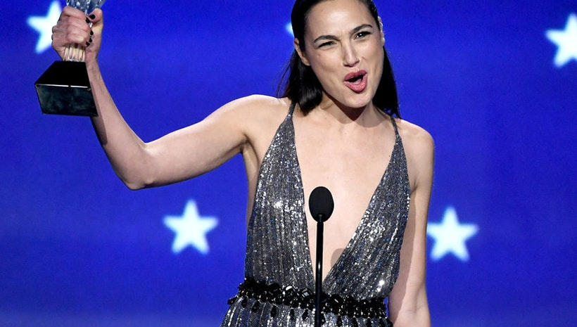 Watch Gal Gadot, Wonder Woman, Deliver Powerful Speech at 2018 Critics' Choice Awards #SeeHer