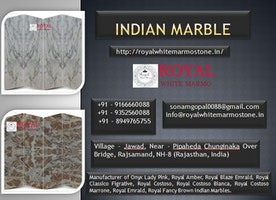 White Indian Marble Tiles and Slab for Flooring