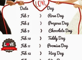 Valentine Week 2018: The Days To Celebrate In Run Up