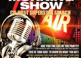 """INTRODUCING PARTY105'S """"MORNING SHOW SUPERSTAR SEARCH"""" PARTY105 (WPTY-FM) IS SEARCHING FOR A CO-HOST FOR THE NEW MORNING SHOW!"""