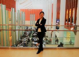 #1 Yurika: UMich Strong Women Story Baton