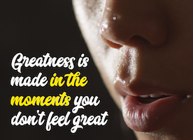 Be Great!