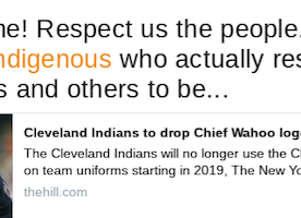 Twitter Moments: Chief Wahoo is replaced!