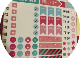 Spice Up Your Planner With Stickers