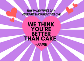This Valentine's Day Let's #SpreadTheLove with stories that promote our #CommonHumanity.