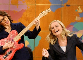 Amy Poehler on Her Badass Lady #Squad, From New Pal Hillary Clinton to BFF Tina Fey