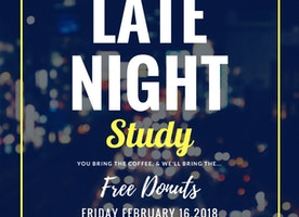 Come Study with Us Tomorrow!!