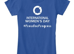 International Women's Day 2018(IWD 2018)- WOMEN'S DAY 2018 T SHIRT