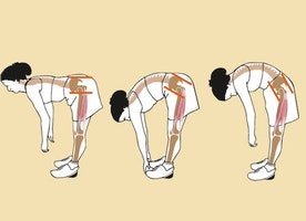 Bending with Low Back Pain