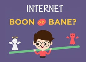 By Sally Dasouki - Is Internet A Boon Or a Bane for the Youngsters?