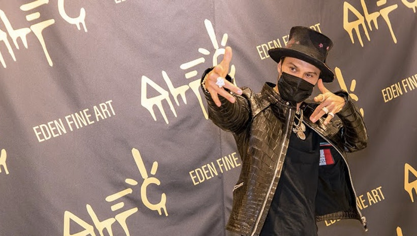 Alec Monopoly Celebrates Birthday with Exhibit Opening at Eden Fine Art Gallery