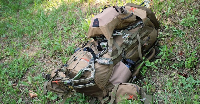 The Hunting Backpack is Big and Far from Everyone will Approach