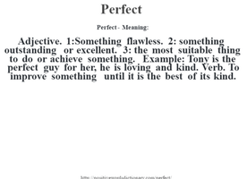 """Why I'm Trying to Take """"Perfect"""" Out of My Vocabulary"""