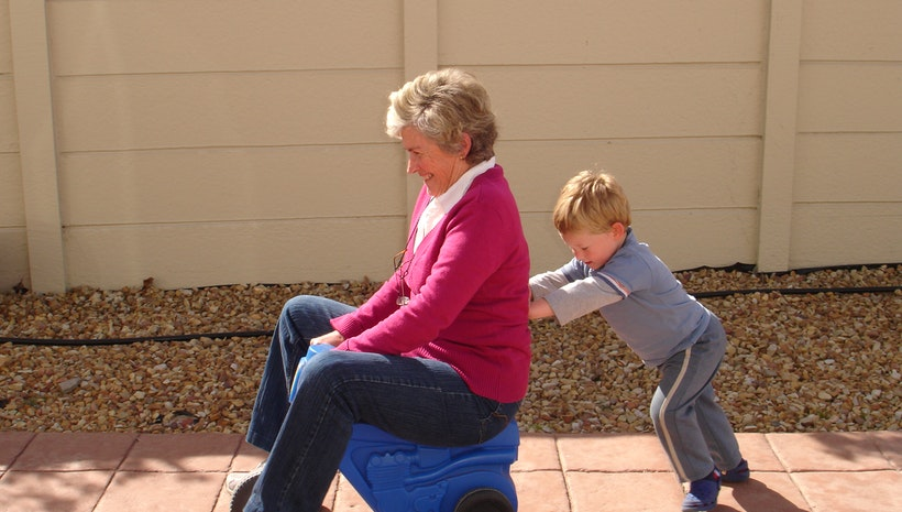 Kids at Risk? Grandparents to the Rescue!