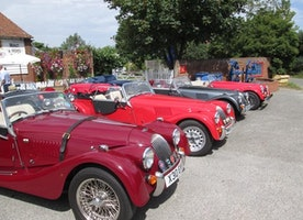 Introducing the UK's Quirkiest Morgan Car Garage