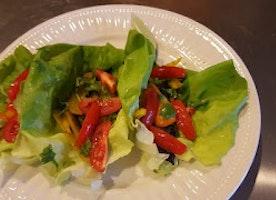 #GlutenFREE Life: Gluten Free Veggie Fajita Lettuce Wraps