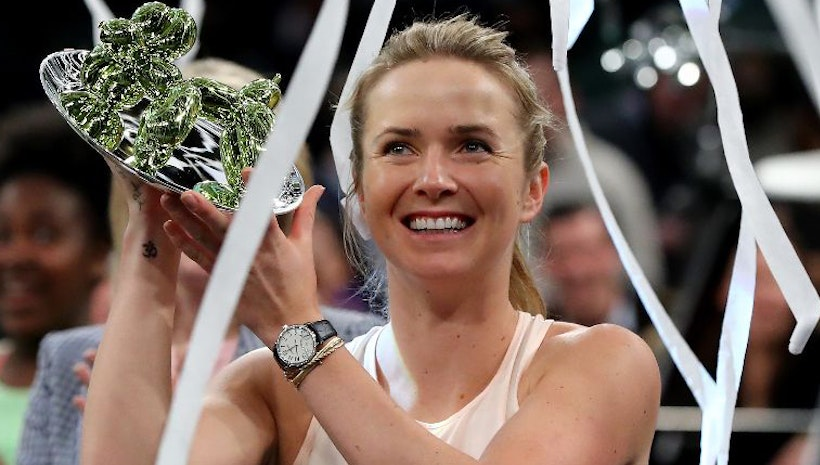 Elina Svitolina Wins First Tie Break Tens Competition in the United States