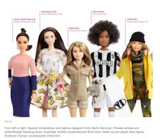 Mattel is turning superhero women into Barbies this International Women's Day!