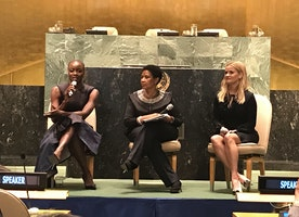 Reese Witherspoon, Danai Guirra & Mogul Celebrate International Women's Day at UN Women