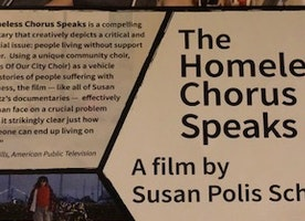 PBS Media Screening of The Homeless Chorus Speaks in NYC on March 11, 2018