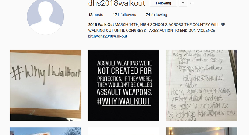 The Normalization of School Shootings Motivates Student Walkout at DHS #NeverAgain