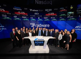Rings the Opening Bell at The Nasdaq in Times Square!