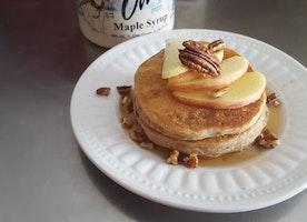 #GlutenFREE Life: Gluten Free Apple Cinnamon Pancakes