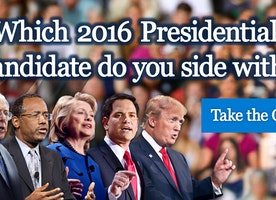 2016 Presidential Election Quiz