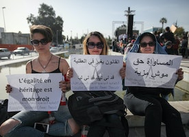 WTF - In Tunisia the law says females can only inherit HALF of what males get