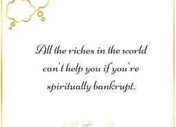 #IAmAMogul because I'm too spiritually rich to be morally bankrupt.