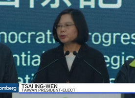 Taiwan Elects First Female President in Landslide