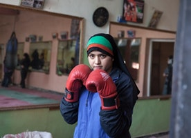 Afghan Women Boxing, Rapping and Breaking Traditions