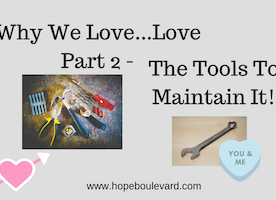 Why We Love (Part 2) - 4 Tools To Maintain It