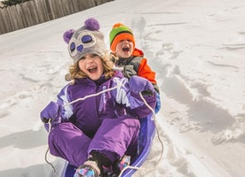 Why Kids Never Sled Alone Anymore - and Maybe Should