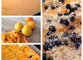 #GlutenFREE Life: Gluten Free Apricot, Almond, Blueberry Torte with a Lemon Glaze:
