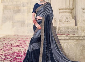 Do Experiments with Your Looks in Plain Sarees and Grab the Eyes