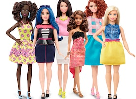 Here are the new Barbies from curvy to tall and petite