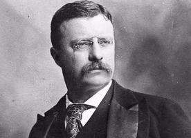 Teddy Roosevelt, an interesting man.