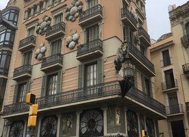 Beautiful buildings in Barcelona