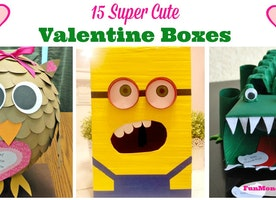 15 Super Cute Valentine Boxes - Fun Money Mom